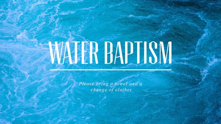 North Campus | Water Baptism logo image