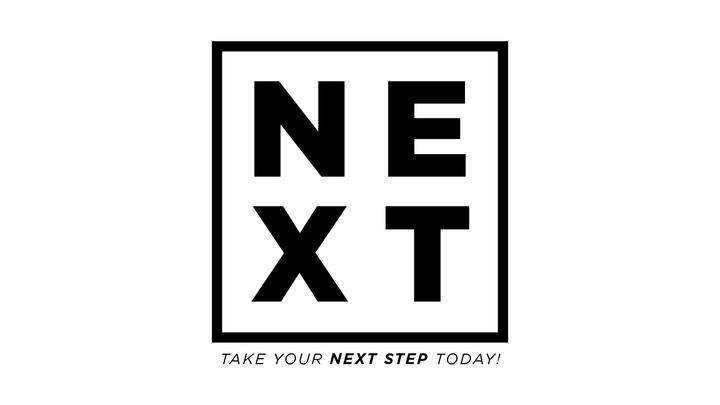 NEXT: Step One- ENGAGE 11:15 am logo image