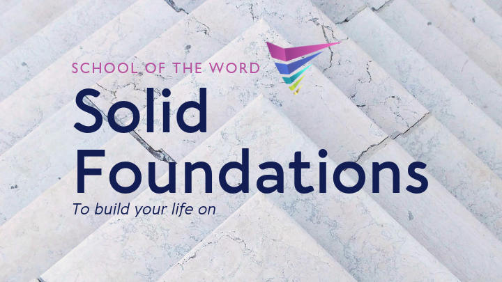 Solid Foundations to build your life on - SOTW 1 logo image