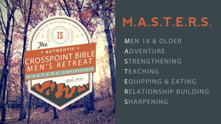M.A.S.T.E.R.S. MEN'S RETREAT logo image