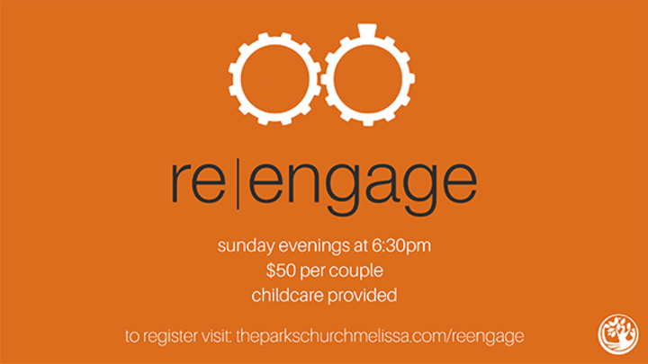 re|engage Fall 2019 logo image