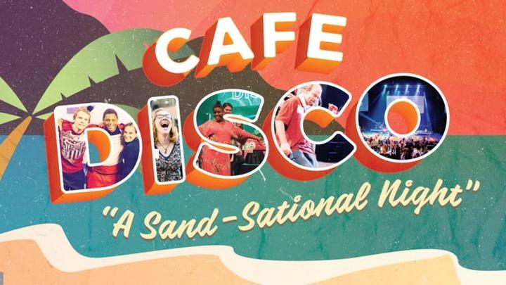 Cafe Disco Volunteer logo image