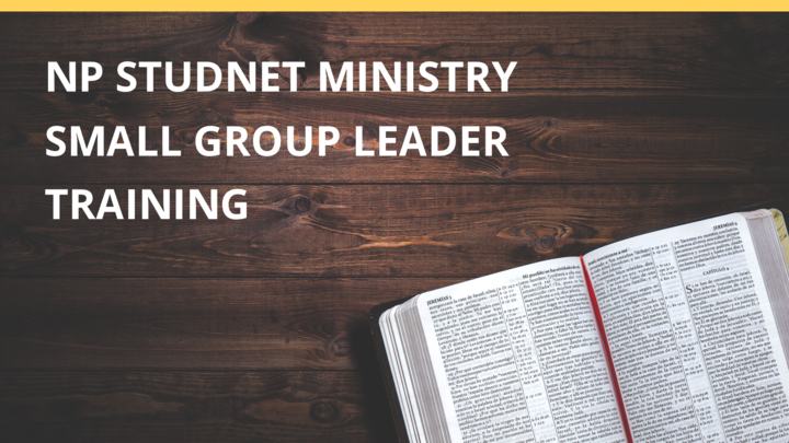 NP Student Ministry Leader Training - Free Event logo image