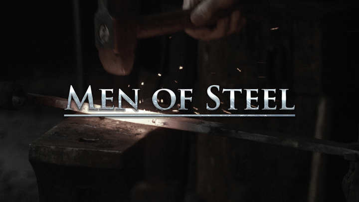 """Men of Steel"" Men's Retreat logo image"