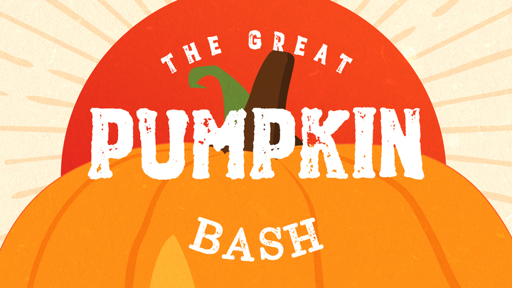 The Great Pumpkin Bash logo image