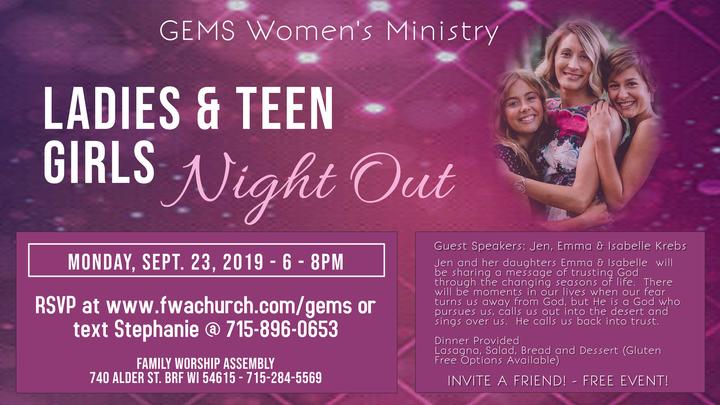 Ladies & Teen Girls Night Out logo image
