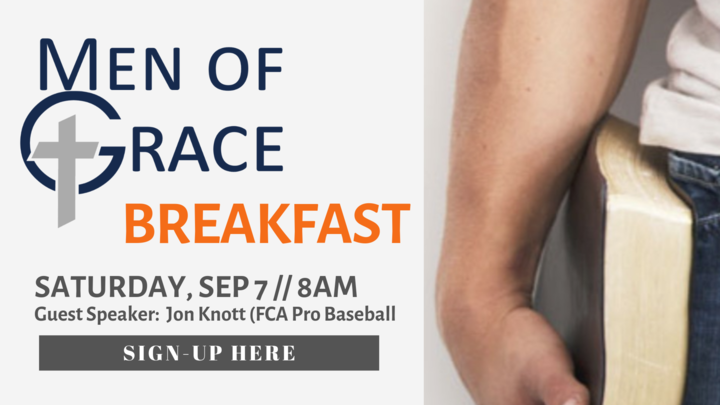 Men of Grace Breakfast logo image