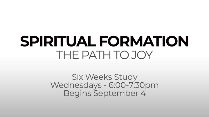 Spiritual Formation - Wednesday PM Study logo image