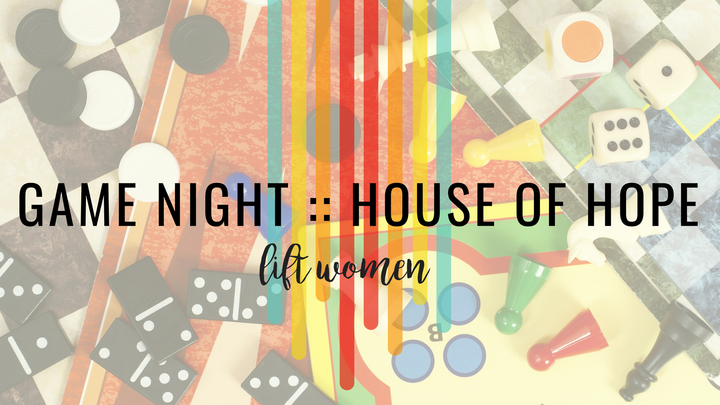 House Of Hope GAME NIGHT!  logo image