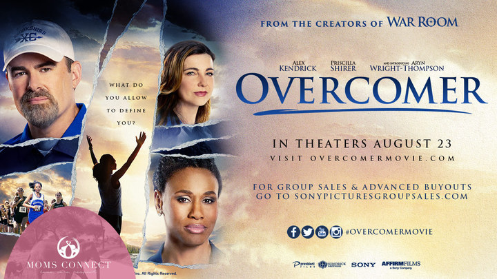 Overcomer // Ladies Night Out logo image