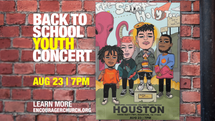 Back to School Youth Concert logo image