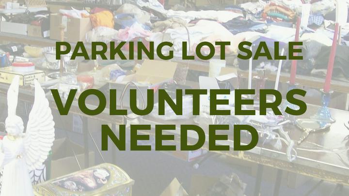 Parking Lot Sale Volunteers  logo image