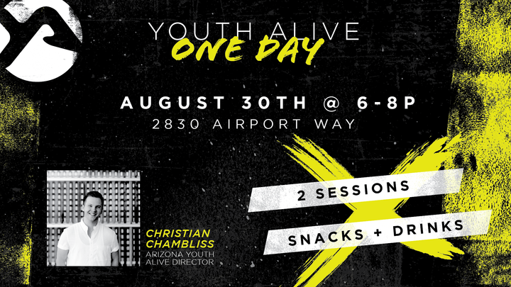 Youth Alive 1-Day logo image