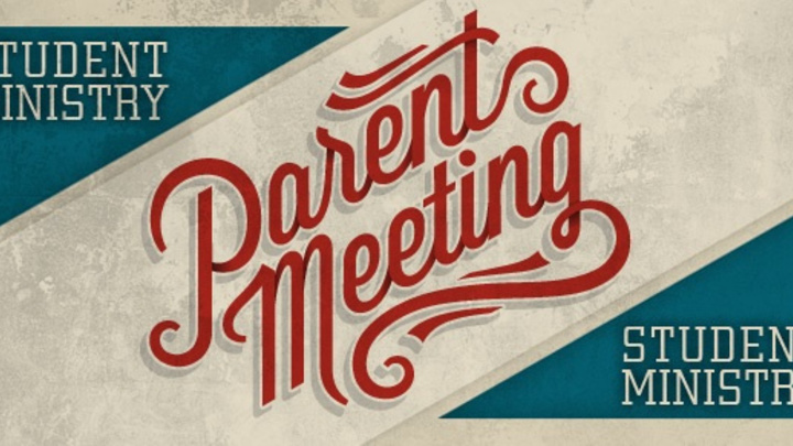 Student Ministries (MS & HS) Parent Info Meeting logo image