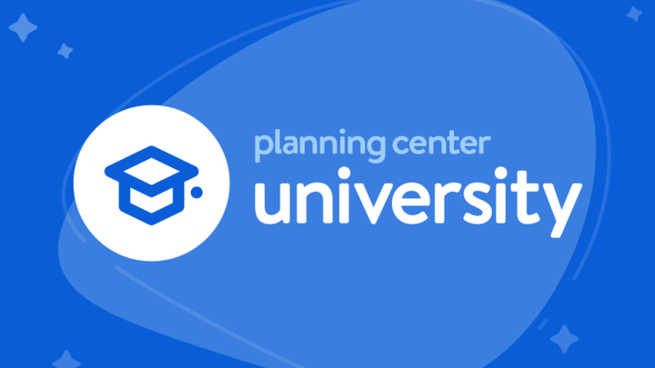 Planning Center (PCO) Kids, Students, and Volunteer Check-In Clinic logo image