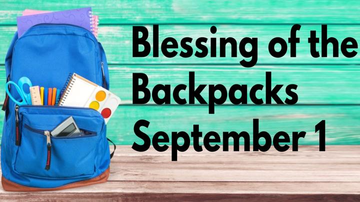 Blessing of the Backpacks logo image