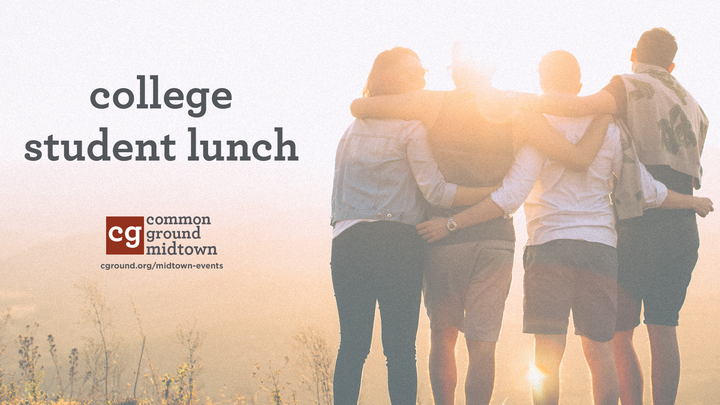 College Student Welcome Lunch logo image