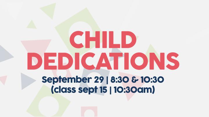 WC | Child Dedication (9.29.19) logo image