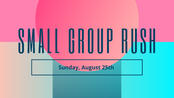 Small Group Rush logo image