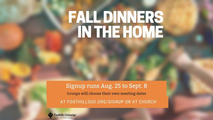 Dinners in the Home Fall Session logo image