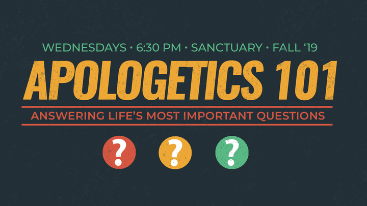 Apologetics 101: Learning to Answer Life's Big Questions logo image