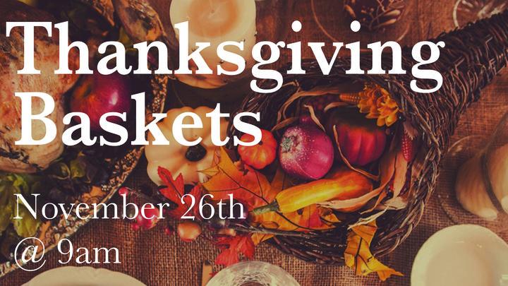 Thanksgiving Basket Volunteers logo image