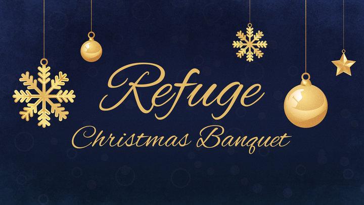 Refuge Christmas Banquet logo image