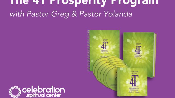 The 4T Prosperity Program with Pastor Greg & Pastor Yolanda logo image