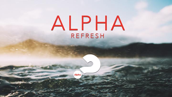 ALPHA Refresh Registration logo image