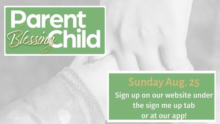 NHCC Parent Child Blessing logo image