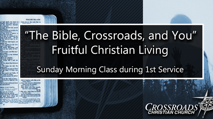 The Bible, Crossroads, and You logo image