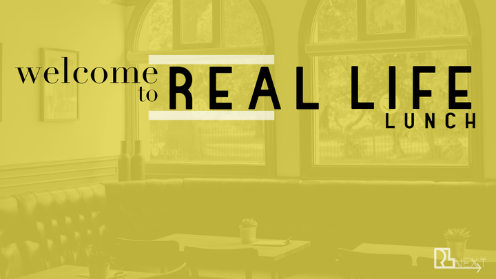 Welcome To Real Life Lunch logo image