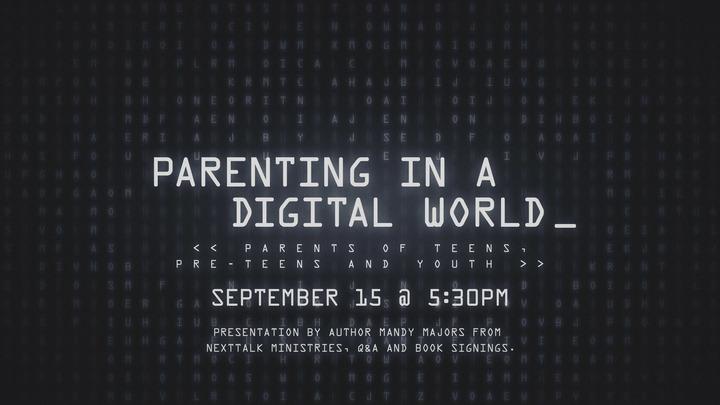 Parenting in a Digital World  logo image