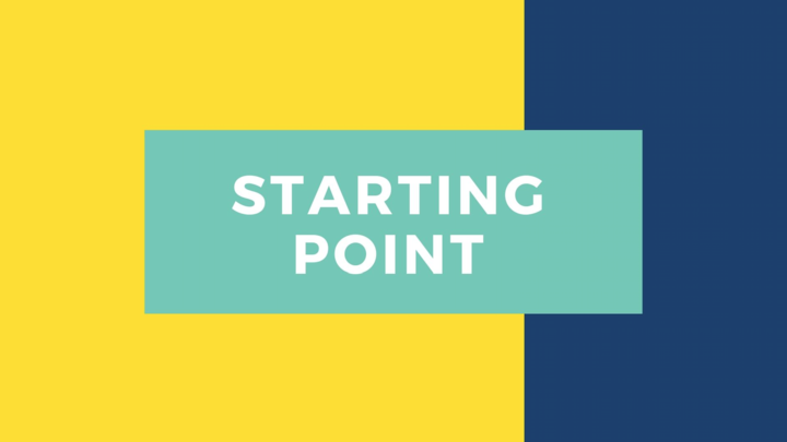Starting Point | October logo image
