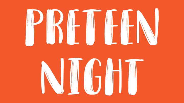 Preteen Night logo image