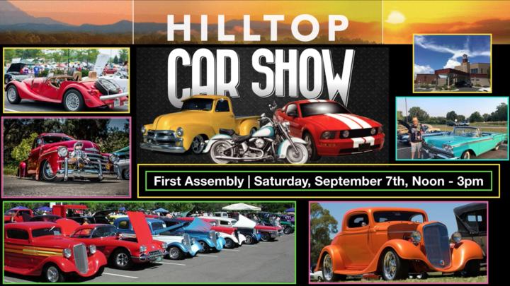 Hilltop Car Show logo image