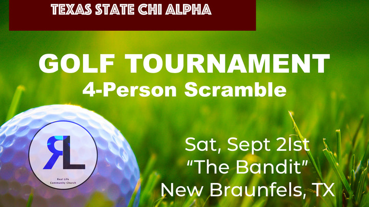 Chi Alpha Golf Tournament logo image