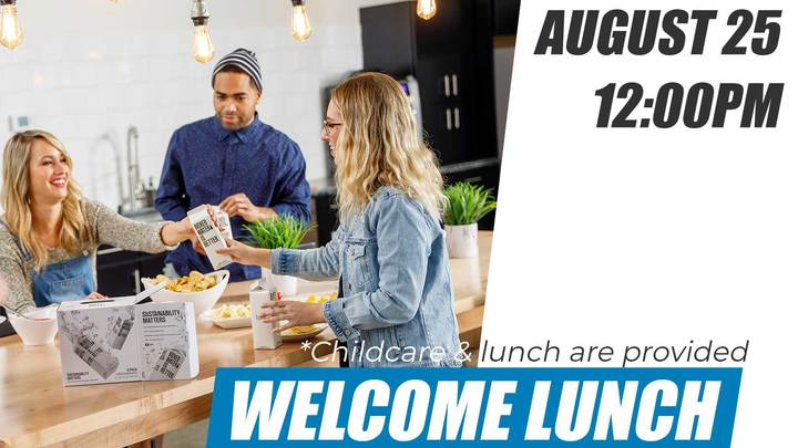 Welcome Lunch: August 25 logo image