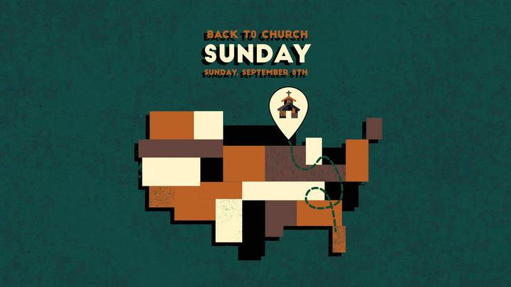 Back to Church Sunday logo image