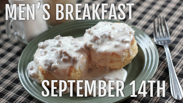 Men's Breakfast - September 2019 logo image