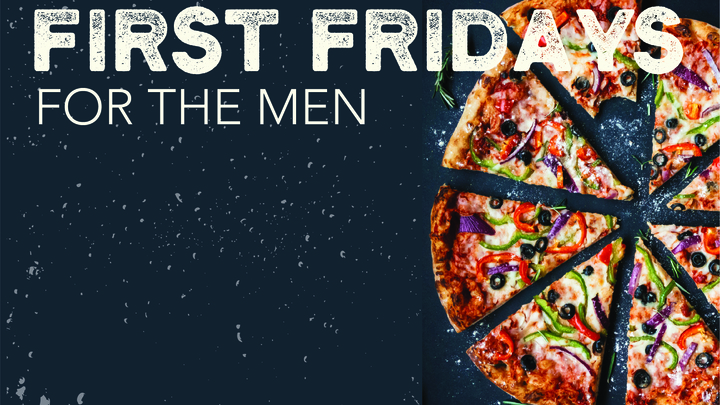 First Fridays (for the Men) logo image