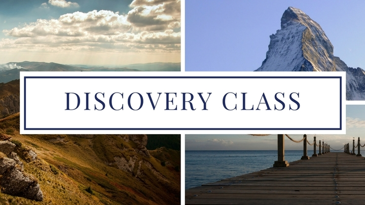 Discovery Class - August 25 logo image