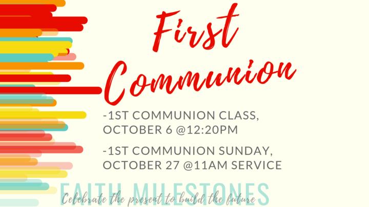 First Communion Class logo image