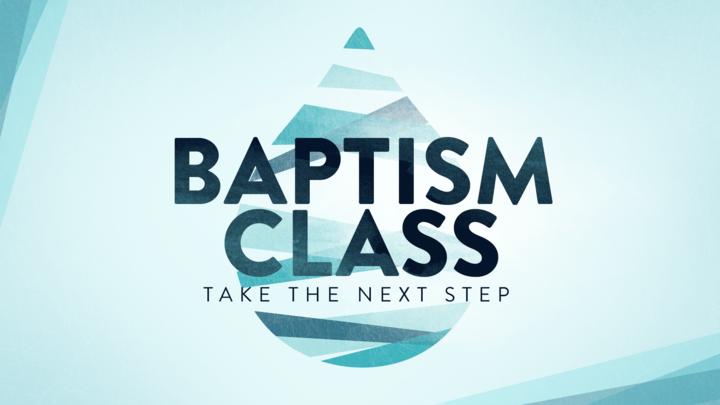Kids Water Baptism Class logo image