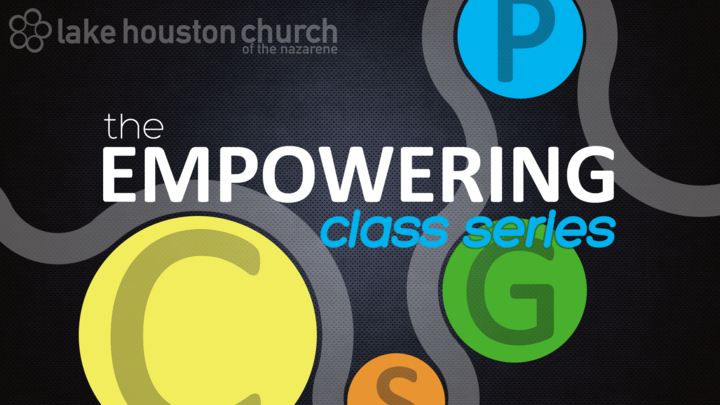 The Empowering Class Series - SEPTEMBER 1, 8, 15, 22 (Class 3 only) logo image