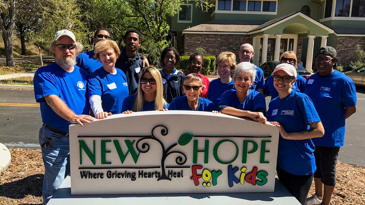 NEW HOPE FOR KIDS (Serve Day - 50 available out of 50) logo image