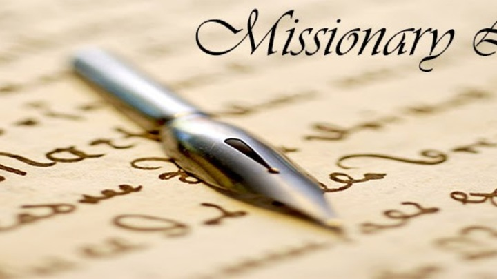 WRITING TO MISSIONARIES (Serve Day -  50 available out of 50) logo image