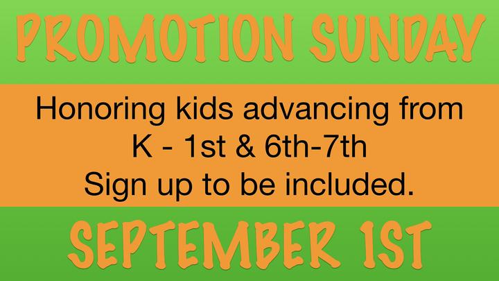 Promotion Sunday  logo image