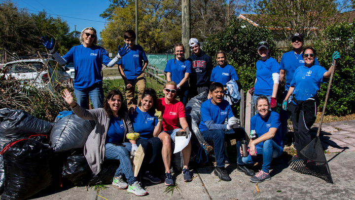 YARD DEBRIS CLEANUP - Great for Families (Serve Day 45 available out of 45) logo image