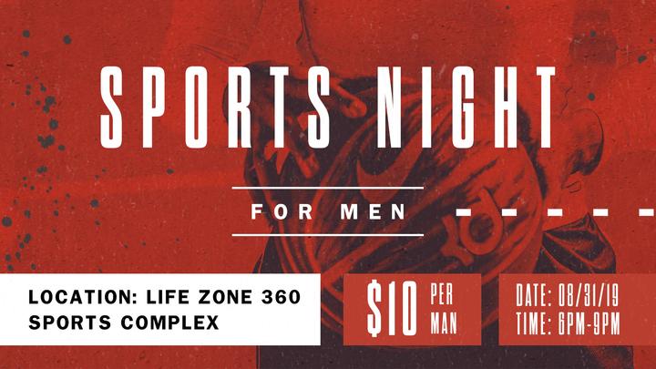 Men's Gym Night logo image